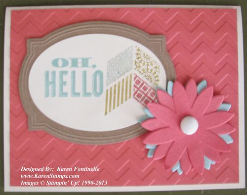 Pop-Up Posies Designer Kit Card
