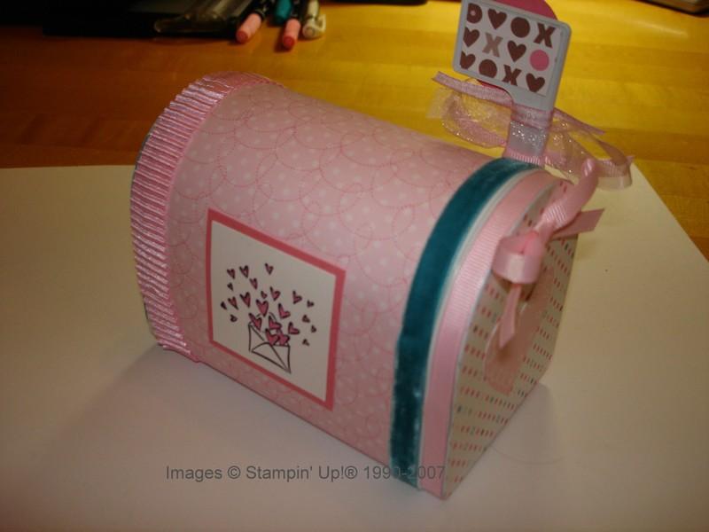 another mailbox stamping with karen